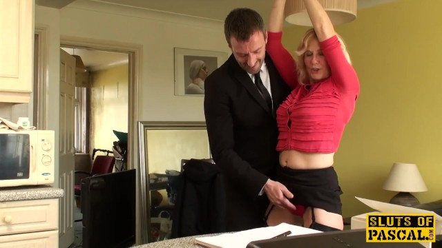 Naked ladies uk Mature uk sub gets cuffed and dominated over