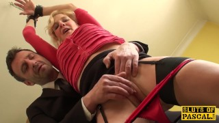 Mature uk sub gets cuffed and dominated over Cougar italian