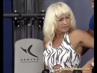 german muscle mom sex training