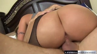 Blackmails eats rides eva sons teach his ass and then dick boobs drilled