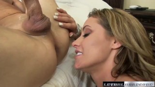 Blackmails his and sons then teach dick eva eats rides ass pov mom
