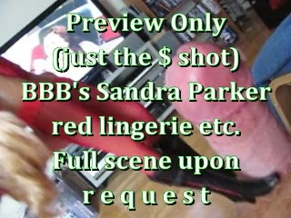 Samantha saint sexy bbb preview: sandra parker red lingerie etc kink adult toys fetish to