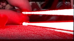 Sith Girl Fucks Herself With Lightsabers