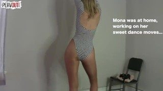 Mona Saves an Angel THE SEQUEL TO THE BIBLE  guy liner pegging strapon pantyhose kink angel dancing leotard sweetfemdom mona wales sweet femdom cum on pantyhose fishets bible female friendly lance hart