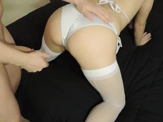 pov-petite girl, hot ass, fucked on vacation
