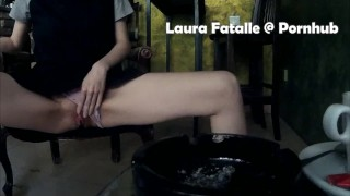 Got2Pee Public pissing extreme Laura Fatalle