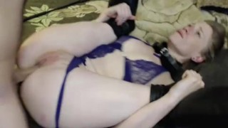 Anal slave ultimate deepthroat ass throat