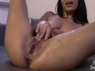 Squirt like a fountain!!Multiple orgasm squirt!!