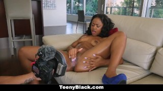 TeenyBlack - Delicious Ebony Babe Fucked In 1st Time Video Shower point