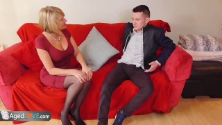 Preview 1 of AgedLove Sam Bourne and mature Amy hardcore