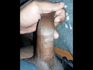 A little cumshot