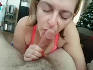 Morning cum swallow 2