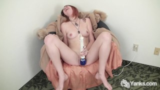 Amateur Sallycat Fucking A Toy For Orgasm