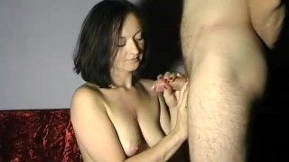 Tits cum maya bare on jizz on