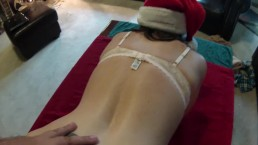 Getting Fucked for Christmas HUGE CUMSHOT Ending