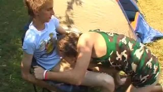 Outdoor Blowjobs Camping Twinks