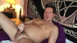 Selfie Stick Dildo in Ass Orgasm