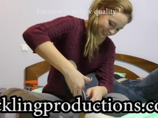 Tickling Juliet part 4 - full clip is 07:14 min long -
