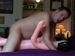 Softcore male masturbation video