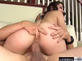 Mandy gets fucked so hard, her orgasms make her pussy squirt