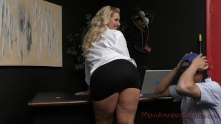 Ryan Conner Makes the Janitor Lick Her Big Ass