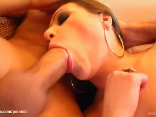 Nicole in hard gonzo style scene from Tamed Teens
