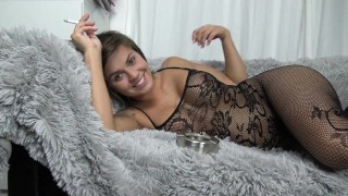 Fountain Teen Pussy, Facial and Huge Cock by Vic Alouqua