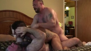 Aarin Asker's First Double Penetration pt2