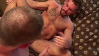 Aarin Asker's First Double-Penetration pt2 Shot latino