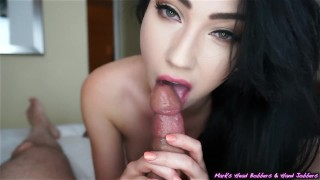 MHBHJ - Aria nylons marks-head-bobbers mhb pov-oral-sex huge-cock edging the-pose small-tits mhbhj slow-teasing-blowjob mark-rockwell point-of-view booty