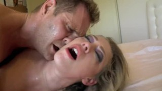 Kagney Linn Karter - Internal Investigation  bed lingerie big-tits shaved-pussy blonde blowjob pornstar big-boobs missionary hardcore kagney-linn-karter cowgirl butt pierced-pussy slim-thick big-dick latin high-heels doggystyle undercut