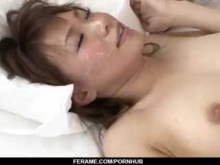 Kana Miura amazes with her pussy and mouth