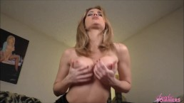 Angela Sommers dirty talk JOI and pussy fingering