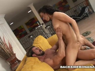 BACKSIDE Ricki White gets Roadside Assistance Cock
