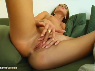 POV style gonzo sex scene with hot Gilda Roberts