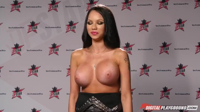 DP Star 3 - Big Ass Pornstar Raven Bay Deep Throat Blowjob