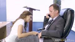 Brazzers - Nina North is a very bad schoolgirl