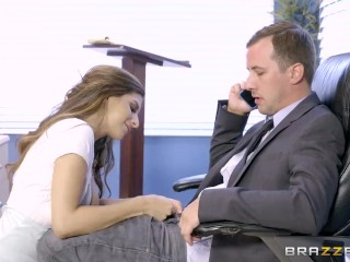 Various Factors Like Unprotected Paid Sex Nina North Is A Very Bad Schoolgirl - Brazzers