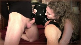Mistress T - cuck gimp suck cock and licks all updates bisexual-cuckold femdom kink