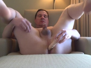 Fucking My Ass In A Hotel Room