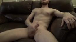 Spraying Cum On My Chest For Sierra -- JohnnyIzFine
