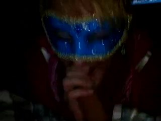 Sexy Blue Mask BJ