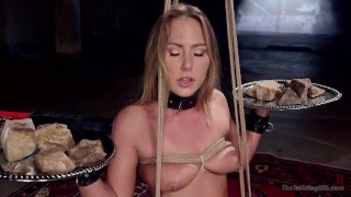 Carter Cruise's Slave Training, Day 1 Face spandex