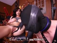 FemDom Goddess Dildo Fucked Then Fucks Slaves Ass