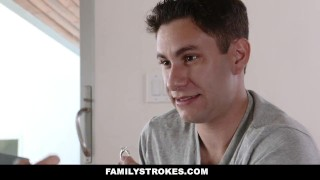 FamilyStrokes - Scavenger Hunt With Step-sis turns sexual  step siblings zelda morrison pale redhead blonde cfnm cumshot hardcore smalltits familystrokes stepsis bigcock facialize facial doggystyle step brother clothed sex natural tits step sister