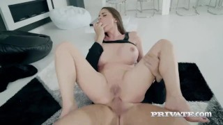 cathy heaven enjoys anal orgasm