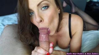 Creampie britney's oral cock point