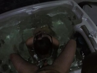 Fucked in jacuzzi