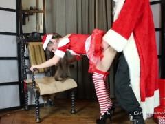 LN's#23 Bad Santa & Naughty Little Helper Fucked and Sprayed On. Ho Ho Ho!
