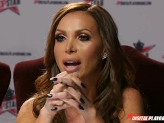 Nikki Benz & Tori Black judging blowjob skills in DPStar 3 Audition Ep 3
